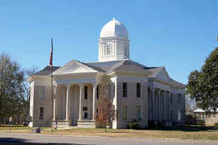 Tensas Parish Courthouse - Photograph by Candice Head